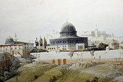 Roberts Drawings - Jerusalem Close Up by Munir Alawi