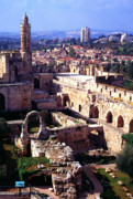 Israel Photos - Jerusalem from the Tower of David Museum by Thomas R Fletcher