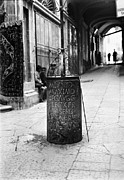 Archaeological Photos - Jerusalem: Roman Pillar by Granger