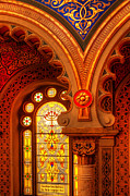 Jerusalem Digital Art Metal Prints - Jerusalem Synagogue-Prague Metal Print by John Galbo