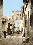 Ecce Prints - Jerusalem: Via Dolorosa Print by Granger