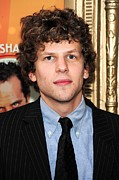Tenor Posters - Jesse Eisenberg At Arrivals For Lend Me Poster by Everett