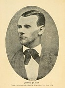Jesse James 1847-1882 Print by Everett