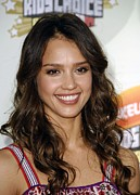 Jessica Alba At Arrivals For 2007 Print by Everett