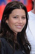At A Public Appearance Metal Prints - Jessica Biel At A Public Appearance Metal Print by Everett