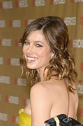 All Star Framed Prints - Jessica Biel At Arrivals For All-star Framed Print by Everett
