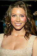 Jessica Biel Framed Prints - Jessica Biel At Arrivals For Esquire Framed Print by Everett