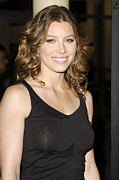 Jessica Biel Framed Prints - Jessica Biel At Arrivals For London Framed Print by Everett