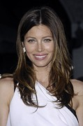 2010s Makeup Framed Prints - Jessica Biel At Arrivals For The A-team Framed Print by Everett