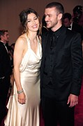 Metropolitan Museum Of Art Photos - Jessica Biel Wearing An Ivory Satin by Everett