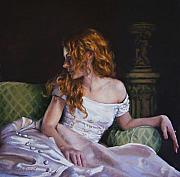 Beautiful Pastels - Jessica Daydreaming by Jean Hildebrant