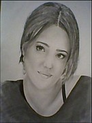 Jessica Alba Drawings Originals - Jessica  by Guillermo Prado