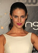 Jessica Lowndes Framed Prints - Jessica Lowndes At Arrivals For Bing Framed Print by Everett