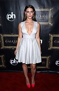 Plunging Neckline Framed Prints - Jessica Lowndes At Arrivals For Jessica Framed Print by Everett