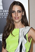 Jessica Lowndes Posters - Jessica Lowndes At Arrivals For Rodeo Poster by Everett