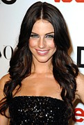 Jessica Lowndes Framed Prints - Jessica Lowndes At Arrivals For Seventh Framed Print by Everett