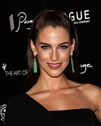 Jessica Lowndes Framed Prints - Jessica Lowndes At Arrivals For The Art Framed Print by Everett