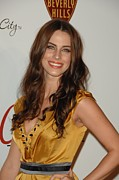 Beverly Hilton Hotel Posters - Jessica Lowndes At Arrivals For The Poster by Everett