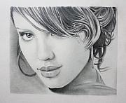 Eyes Detail Drawings - Jessica by Ted Castor