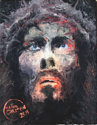 Abstract Realism Paintings - Jesus 002 by Brian Carlton