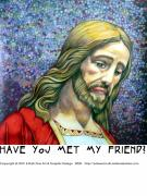 Forgiven Digital Art Prints - Jesus 4 Have You Met Print by Edward Ruth