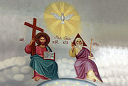 Jesus Photos - Jesus and Abraham by Munir Alawi