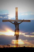 Crucify Metal Prints - Jesus Metal Print by Bill Cannon