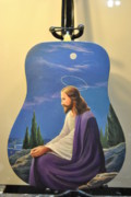 Chords Paintings - Jesus. by Calvin Carter