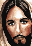 Redeemer Art - Jesus  by Chris Martinez