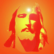Jesus Christ Icon Prints - Jesus Christ No. 01 Print by Ramon Labusch
