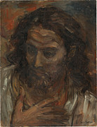 Jesus Art Paintings - Jesus Christ by Sam Hugh Harris