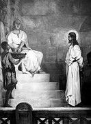 Pilate Art - Jesus Christ, Title Pontius Pilate by Everett