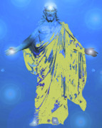 Issa Prints - Jesus-Energy. No. 11 Print by Ramon Labusch