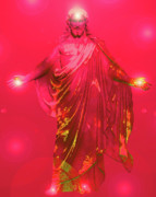 Basis-chakra Posters - Jesus-Energy No. 31 Poster by Ramon Labusch