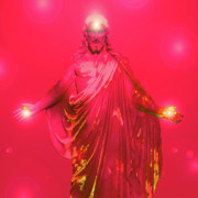 Basis-chakra Posters - Jesus-Energy No. 32 Poster by Ramon Labusch