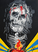 Religious Art Painting Originals - Jesus by Erik Pinto