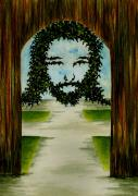 Michael Vigliotti - Jesus Face in Vines
