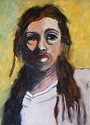 Humor Pastels - Jesus in a White T-Shirt by Janel Bragg
