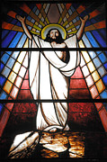 Christian Sacred Photo Metal Prints - Jesus is Our Savior Metal Print by Gaspar Avila