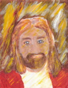 Jesus Is The Christ The Holy Messiah 5 Print by Richard W Linford