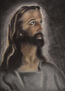 Bird Drawings - Jesus by Bird