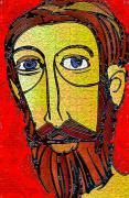 The Church Mixed Media - Jesus Of Nazareth by Mimo Krouzian