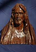 Bible Sculpture Metal Prints - Jesus of Nazareth Metal Print by Rick Ahlvers