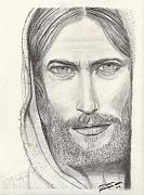 Christ Drawings - Jesus of Nazareth by Shawn Sanderson