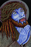 Nannette Harris Prints - Jesus Peace Print by Nannette Harris