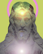 Jesus Portrait No. 01 Print by Ramon Labusch