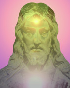 Jesus Christ Icon Prints - Jesus Portrait No. 02 Print by Ramon Labusch