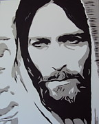Jesus Art Paintings - Jesus by Sam Sakharia