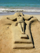 All - Jesus Sand Sculpture by Rich Stedman