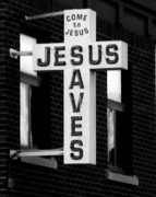 Saves Photos - Jesus saves by Lisa Jayne Konopka